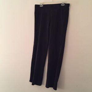 Straight leg workout pants L